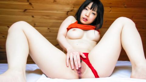 Hot solo with a busty Japanese babe and her Asian dildo - JavHD
